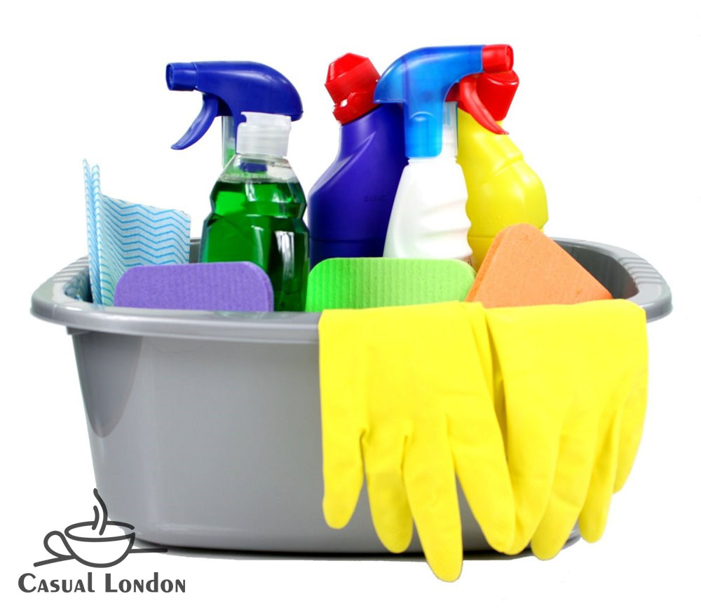 Key cleaning supplies